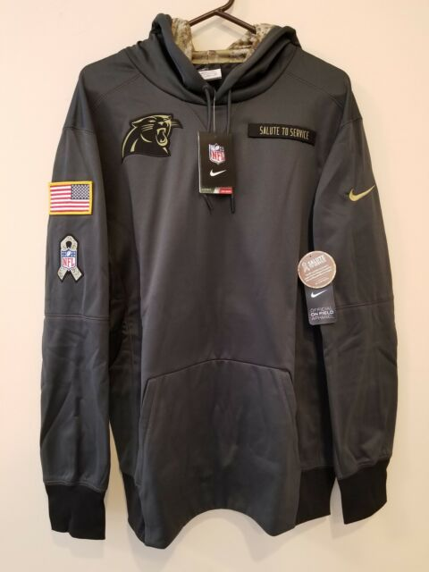 timeless design 140b5 ef21d CAROLINA PANTHERS 2016 NIKE NFL SALUTE TO SERVICE HOODIE XL