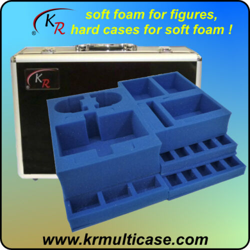 Case and Trays to hold GW Space Marines Landraider,Predator,Rhino,Troops E-173