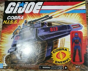 GiJoe Retro Cobra HISS III With Rip It Action Figure Walmart Exclusive