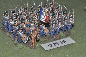 25mm Napoléon / Française - Ancienne Garde 32 figurines Inf (28974)