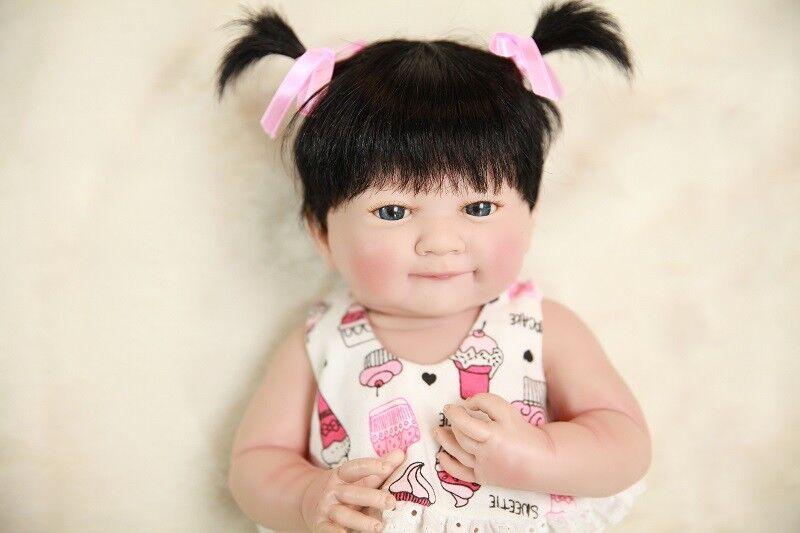 14  Muñeca Muñeca Muñeca Bebé Reborn Cuerpo Completo Silicona Vinilo niña hecho a mano realista bañar Toys  Disfruta de un 50% de descuento.