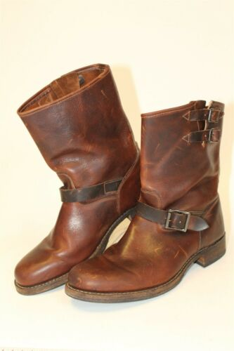 Frye Mens Size 10.5 M Brando Engineer Leather Mid