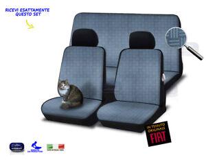 Coprisedili Fiat Panda 141 fodere copri sedile foderine in tessuto originale per