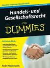 Handels- und Gesellschaftsrecht Fur Dummies by Andre Niedostadek (Paperback, 2016)