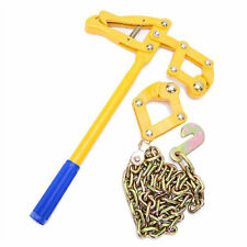 Chain Strainer Cattle Barn Farm Fence Stretcher Tensioner Repair Barbed Wire Usa