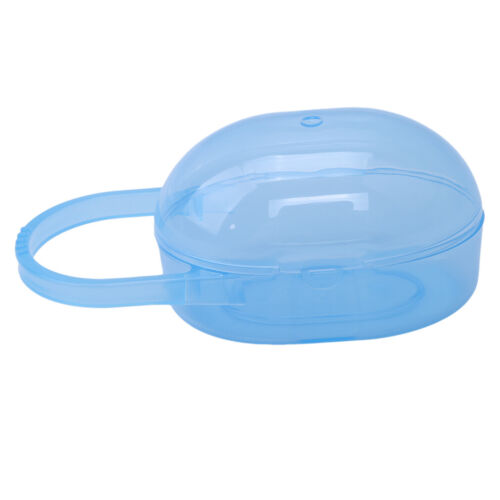 Baby Soother Container Pacifier Dummy Travel Portable Storage Box Case Holder