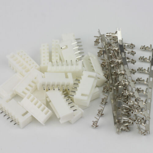 10x 6 Pin JST-XH 2.5 2.54MM Connector Male Female fr RC 5S Li-poly Batteries