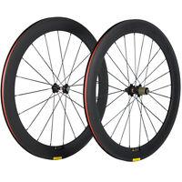 Novatec 271 Hub 60mm Clincher Carbon Wheelset Road Bike/Bicycle Wheels UD Matte