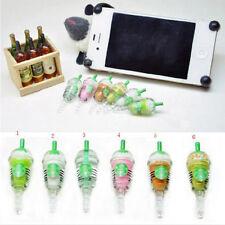 6 Pcs StarBucks Frappuccino Milk Cell Phone Charm 3.5mm Anti Dust Earphone Jack