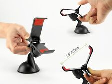 Black Mount For Car Truck Boat Dashboard/Windshield Holder For Cell Phone