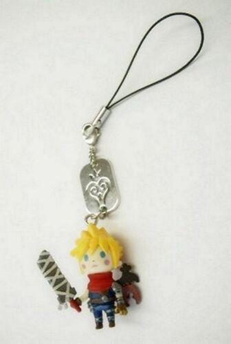 Kingdom Hearts Cloud Avatar Mascot Phone Strap