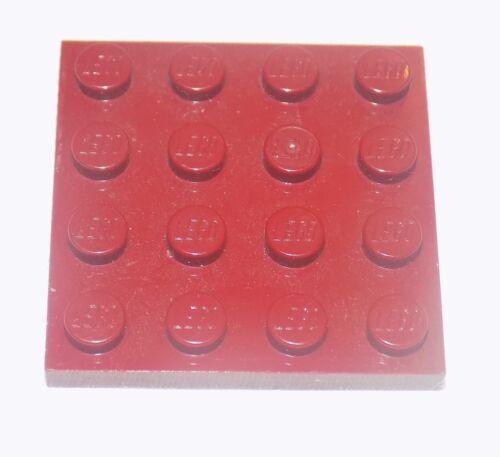 ** LEGO Plate 4x4 alette di 3031 COLORI A SCELTA **