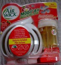 2 AIR WICK Mobil Air Electric Portable Diffuser ~ Country Berries ~2 lot