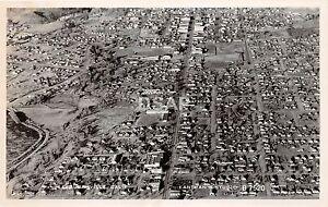 California-Ca-Postcard-Real-Photo-RPPC-c1940s-SUSANVILLE-Birdseye-View