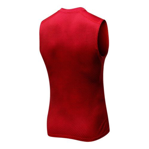 Herren Kompressions-Tanktop Ärmellos Funktionsshirts Baselayer Unterhemd