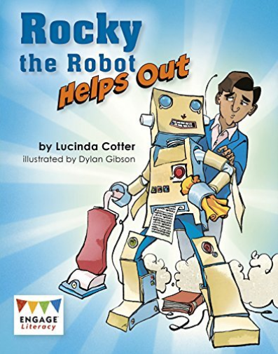 Cotter  Lucinda-Rocky The Robot Helps Out BOOK NEUF