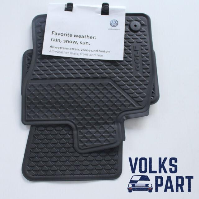 VW Volkswagen Golf 7 VII 5G Set 4 Tapis Caoutchouc Original 5G1061500A
