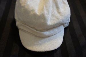 907f7a5f7b1c9 Charter Club Hat Sz OS One Size Solid Ivory Newsboy Hat Style ...