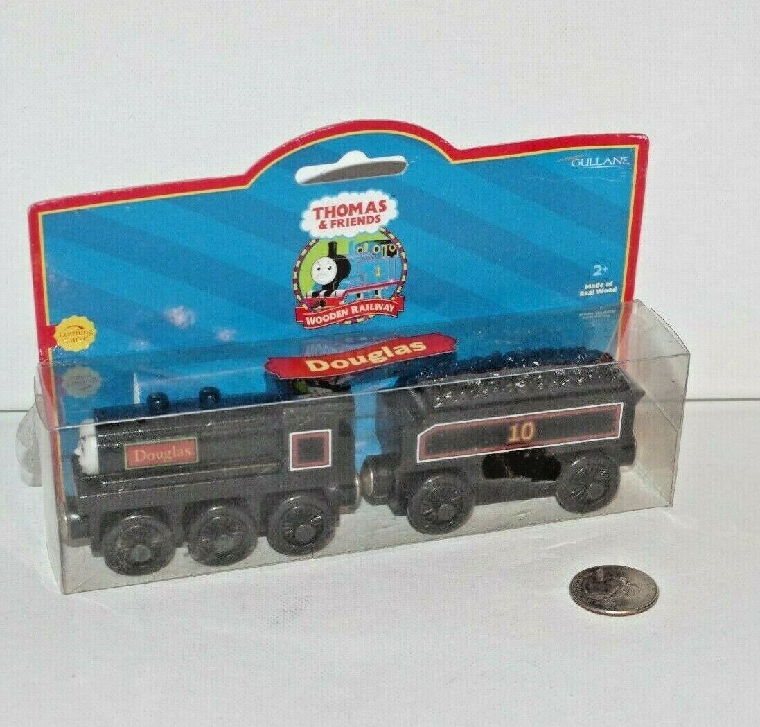 Thomas & Friends Wooden Railway Train Tank Engine - Douglas - NEW 2001 - LC99010
