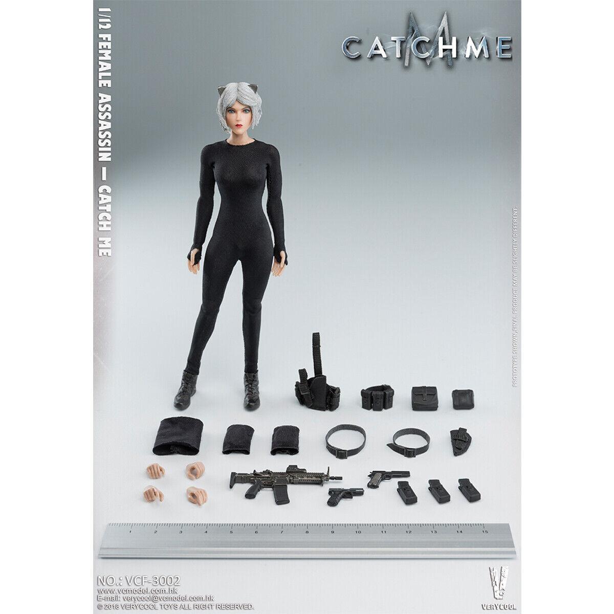 VERYCOOL VCF-3002 1 12 Palm Treasure serie Female Assassin Catch Me  Figure New