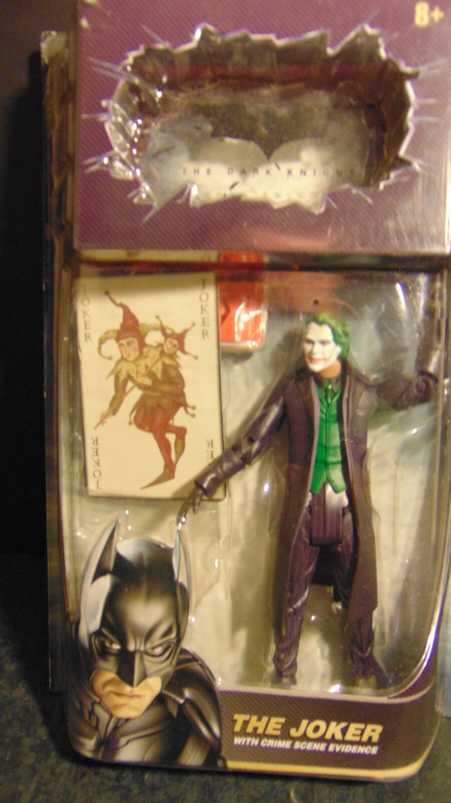 BATMAN DARK KNIGHT JOKER VARIANT ULTRA RARE CARD EVIDENCE TRUE FIRST RELEASE