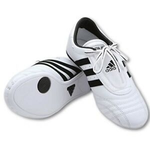 ON-SALE-Adidas-Martial-Arts-Karate-Training-Practice-Shoes-WHITE-and-BLACK