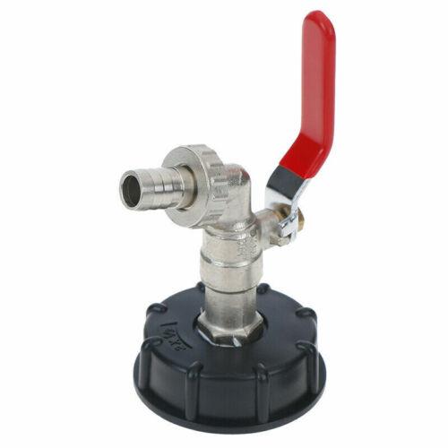 IBC Adapter S60x6 Grobgewinde Kugelhahn Auslaufventil Regenwassertank Neu 1