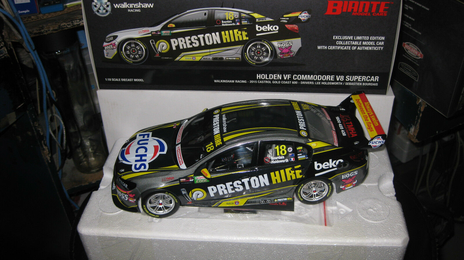 Biante 1   18 holdsworth bourdais holden commodore 2015 nach Gold coast 600   18.