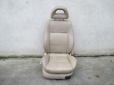 LEDER Beifahrersitz Sportsitz VW Golf 4 Bora Sitz Ausstattung beige Sitzheizung