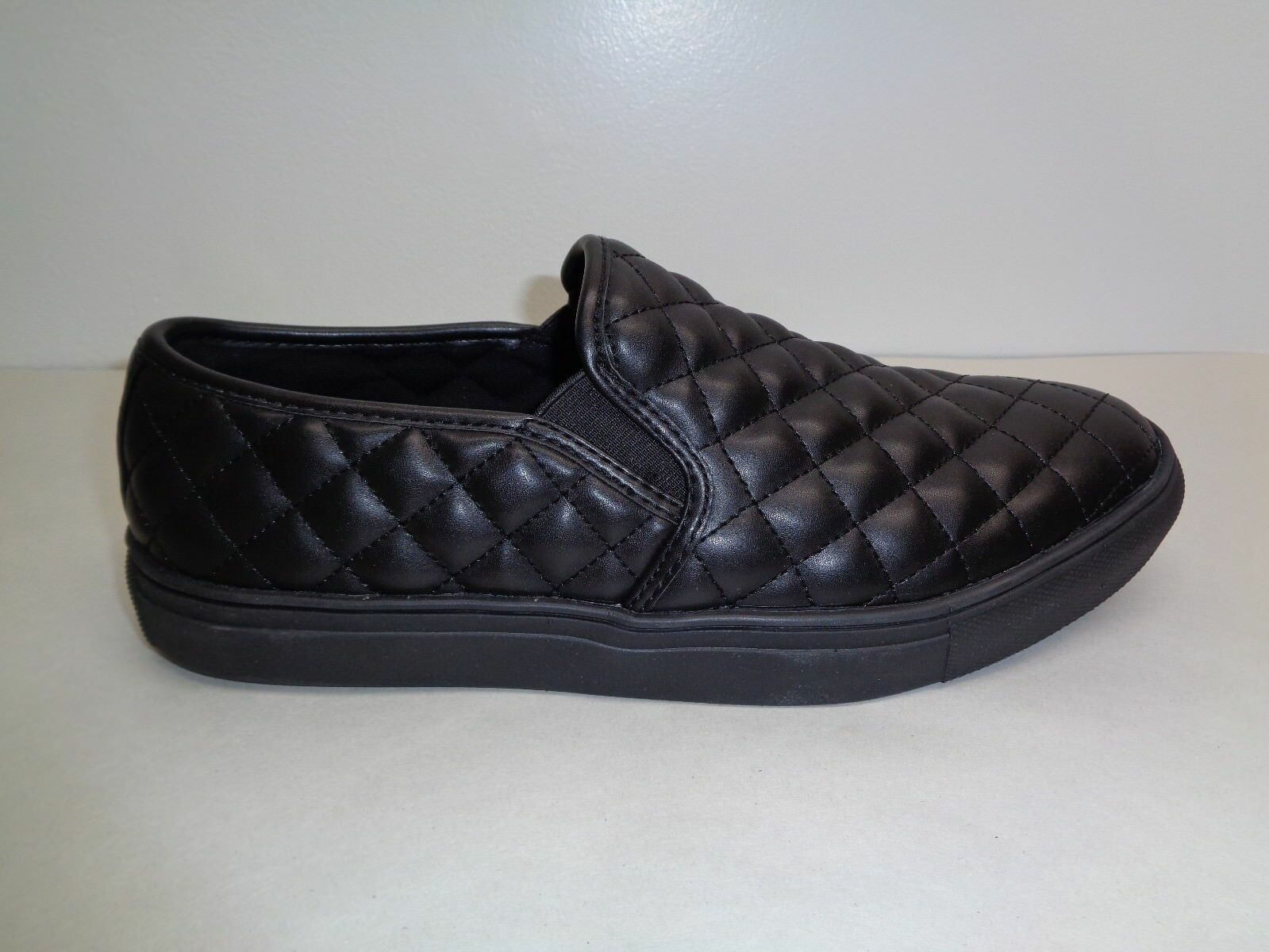 Steve Madden Size 13 M ELEMENT Black Slip On Loafers Sneakers New Mens Shoes