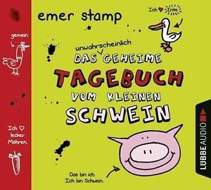 Das-unwahrscheinlich-geheime-Tagebuch-vom-kleinen-Schwein-Emer-Stamp-2015-CD