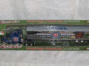 "MLB Chicago Cubs ""Alfonso Soriano"" Semirimorchio Diecast/Plastica 1/64 ERTL 2007"