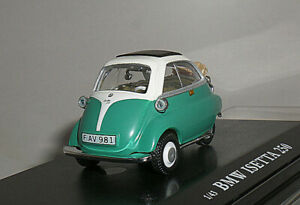Cararama 1//43 Bmw Isetta 250 Green