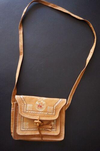 Vintage Echt natuurlijk lederen Handtas leer Nieuwe schoudertas schoudertas xUCwUXq7