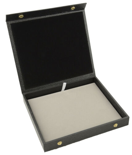 Jewellers Traveller Box Jewellery Gift Display Storage Box Case Snap Close Lid