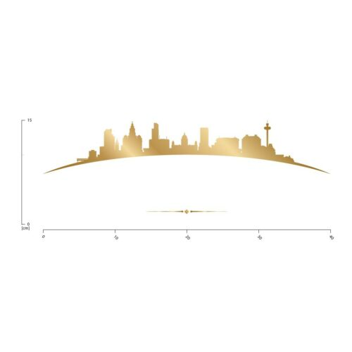 Liverpool City Skyline Wall Sticker WS-50596