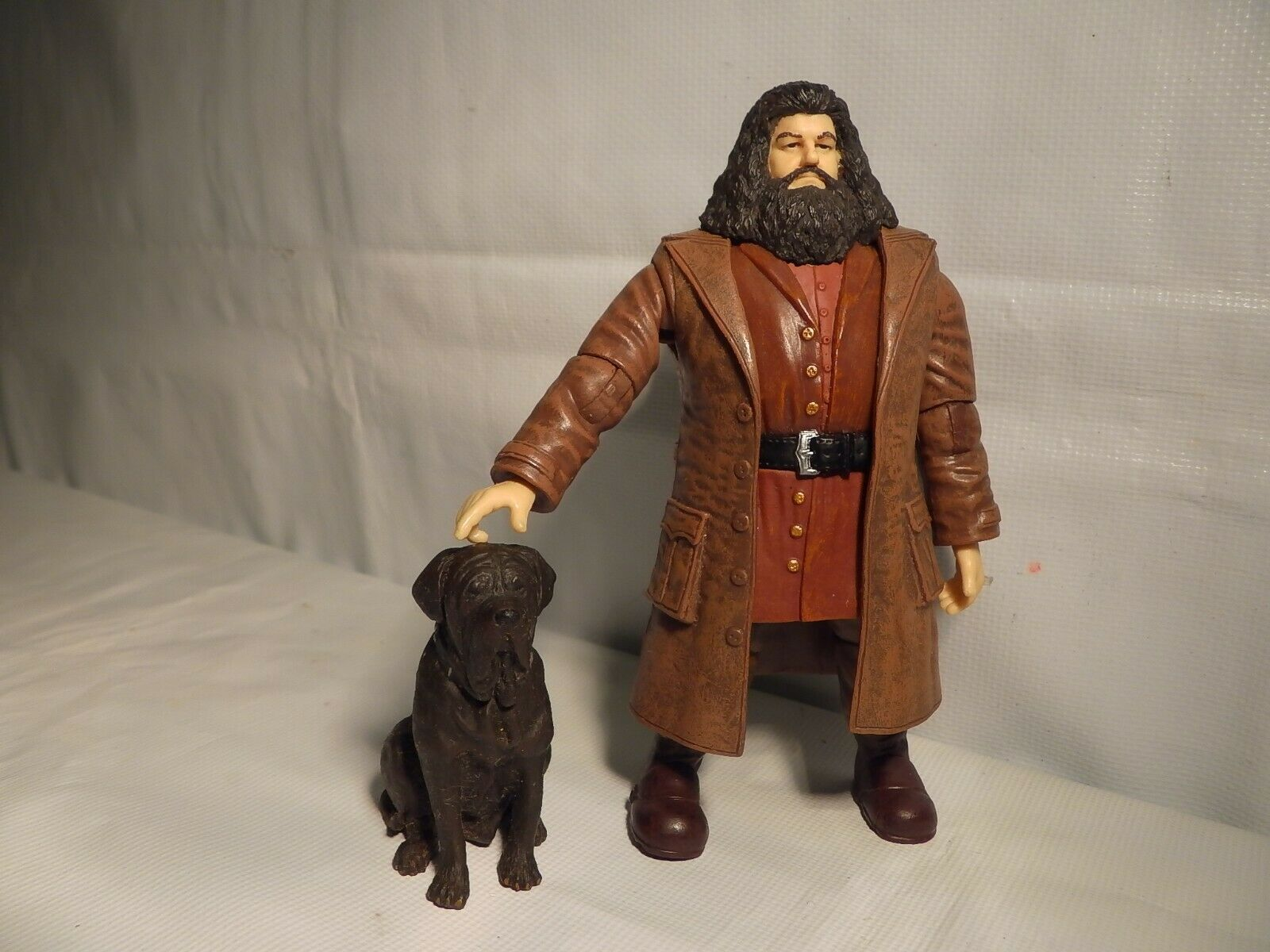 Rubeus Hagrid Fang the Dog Action Figure Harry Potter Order of the Phoenix Toy