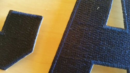 NAVY BLUE Captain C Alternate A Patch for Jersey Hockey Soccer Football Sports