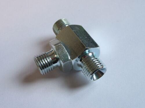 """1/"""" x 1/"""" x 1/"""" bsp mâle tee pour bonded seal fabriqué égal Z10//16 #10M246"""