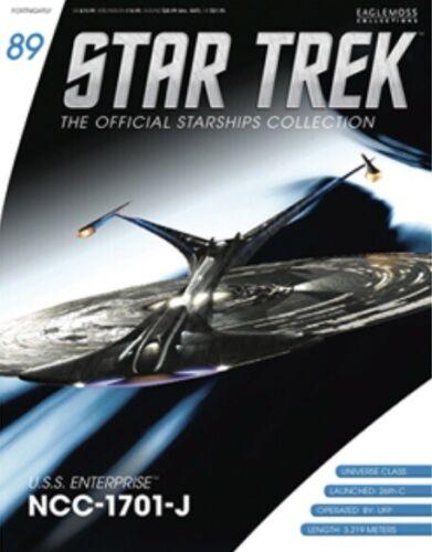 Star Trek USS Enterprise NCC-1701 J Universe Class Eaglemoss #89.