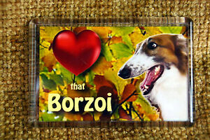 Borzoi-Gift-Dog-Fridge-Magnet-77x51mm-Birthday-Gift-Stocking-Filler