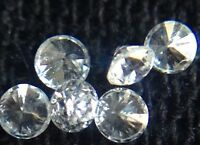 Genuine Natural White Round Diamonds 20pc Lot .01ct 1.25mm G/vvs Melee Loose