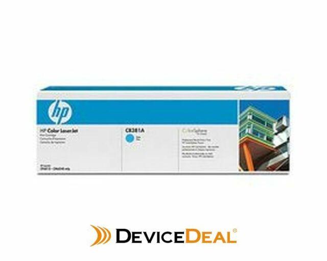 HP Color LaserJet Cyan Print Cartridge (CB381A)