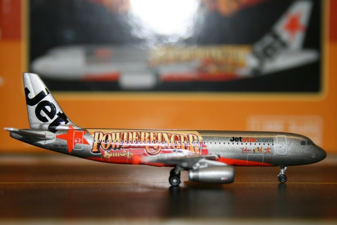 Phoenix 1 400 Jetstar Airbus A320-200 VH-VGP Powderfinger (PH10452) Model Plane