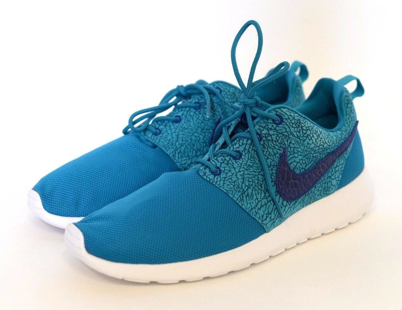 DS Nike Roshe Run Tropical Teal Deep Royal 511881-341 sz 10 Cement Pack Mesh New