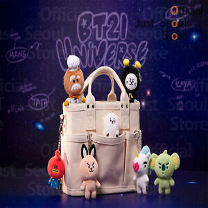 Official BTS BT21 Universe Bagcharm Dolls +Freebie +Free Tracking KPOP
