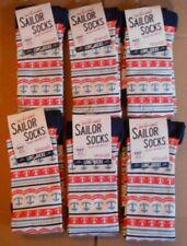3 PAIRS SEASALT BAMBOO WOMENS SAILOR SOCKS SIZE 3-8 UK 36-42 BRETON SANDSTONE