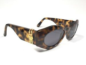 b21c9bb38c877 NEW VINTAGE GIANNI VERSACE 422 A TORTOISE MEDIUM 1990  S ITALY ...