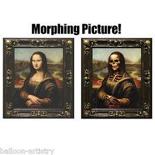 Large MONA LISA Morphing Changing Portrait Frame Lenticular Morph Halloween Prop