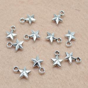 30//100pcs lovely retro fine bee alloy charm pendant jewelry accessory 10.4X9.3mm
